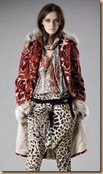 cavalli red coat 2