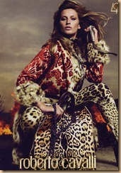 red cavalli coat fall 2010