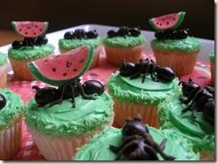 ants cupcakes
