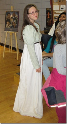 hannah historica costume