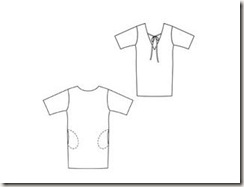 Burda 5-2011-111 technical drawing