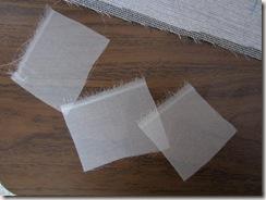 organza squares