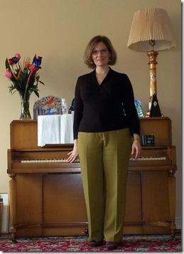 SWAP green trousers