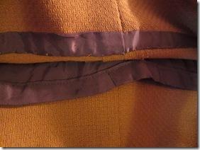 Vogu 7881 lining and binding