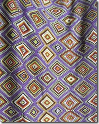 purple graphic knit