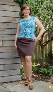 Vogue 1247 skirt