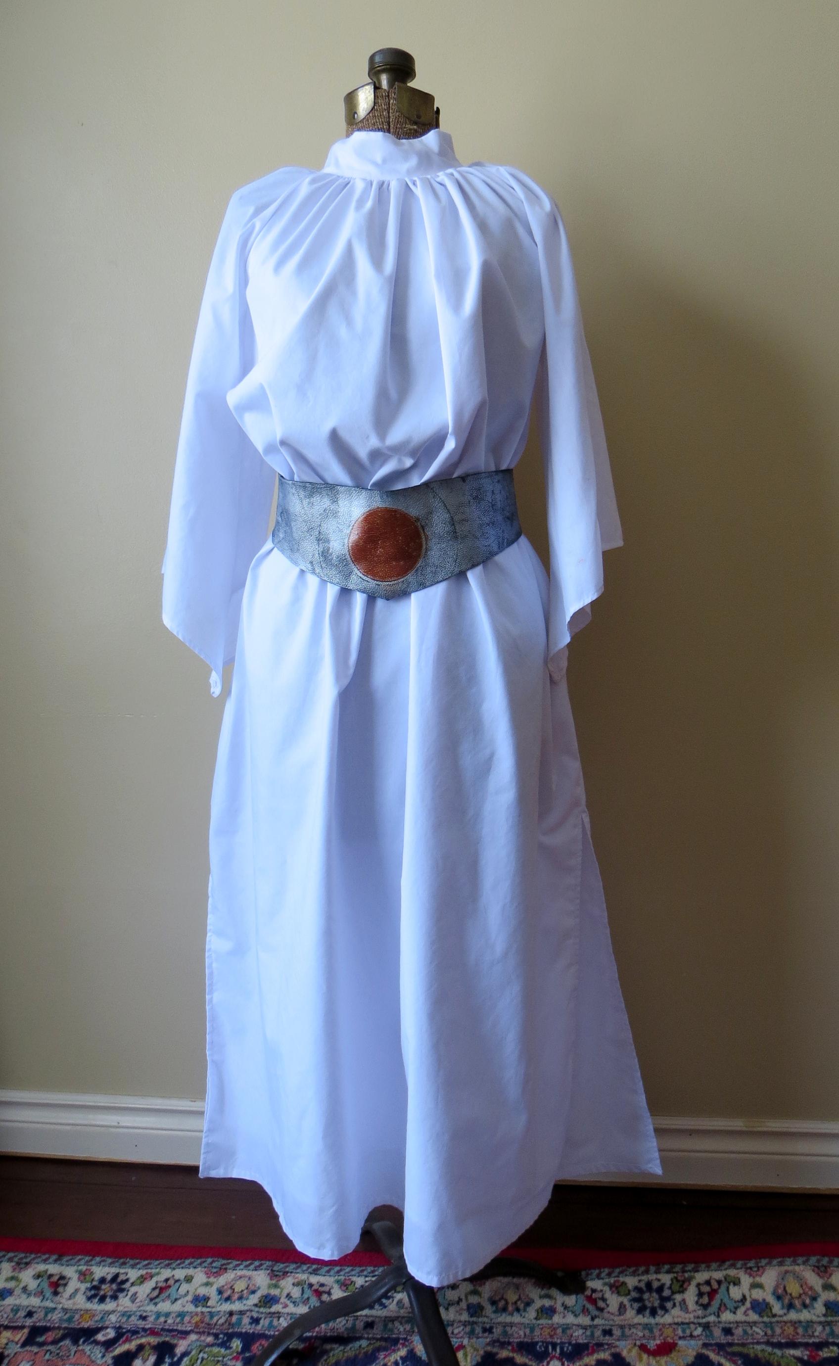 frankenpattern princess leia costume mezzo couture. Black Bedroom Furniture Sets. Home Design Ideas