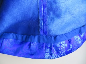 Vogue 8615 skirt interior