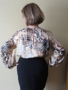 Burda 11-2013-130 blouse