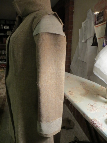 sleeve interfacing