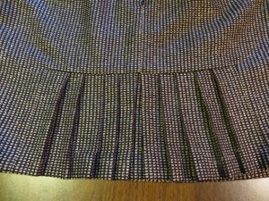 skirt pleated fishtail (2)