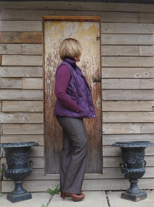jalie brown jeans