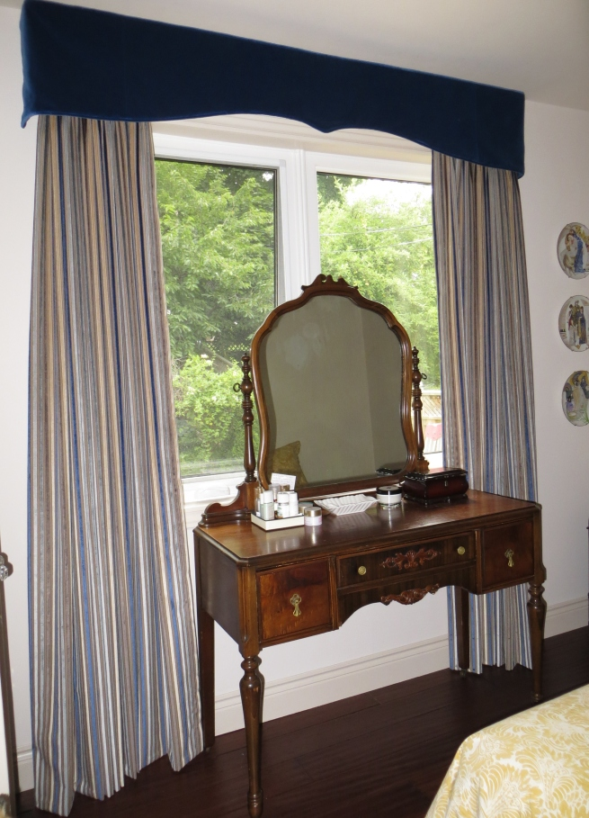 bespoke bedroom drapes